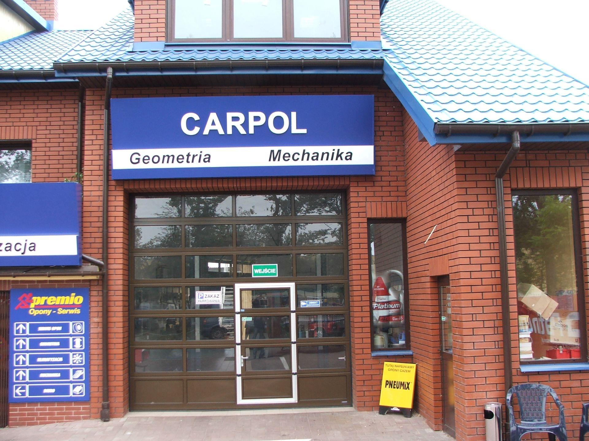 PHU CARPOL SP.J wymiana opon