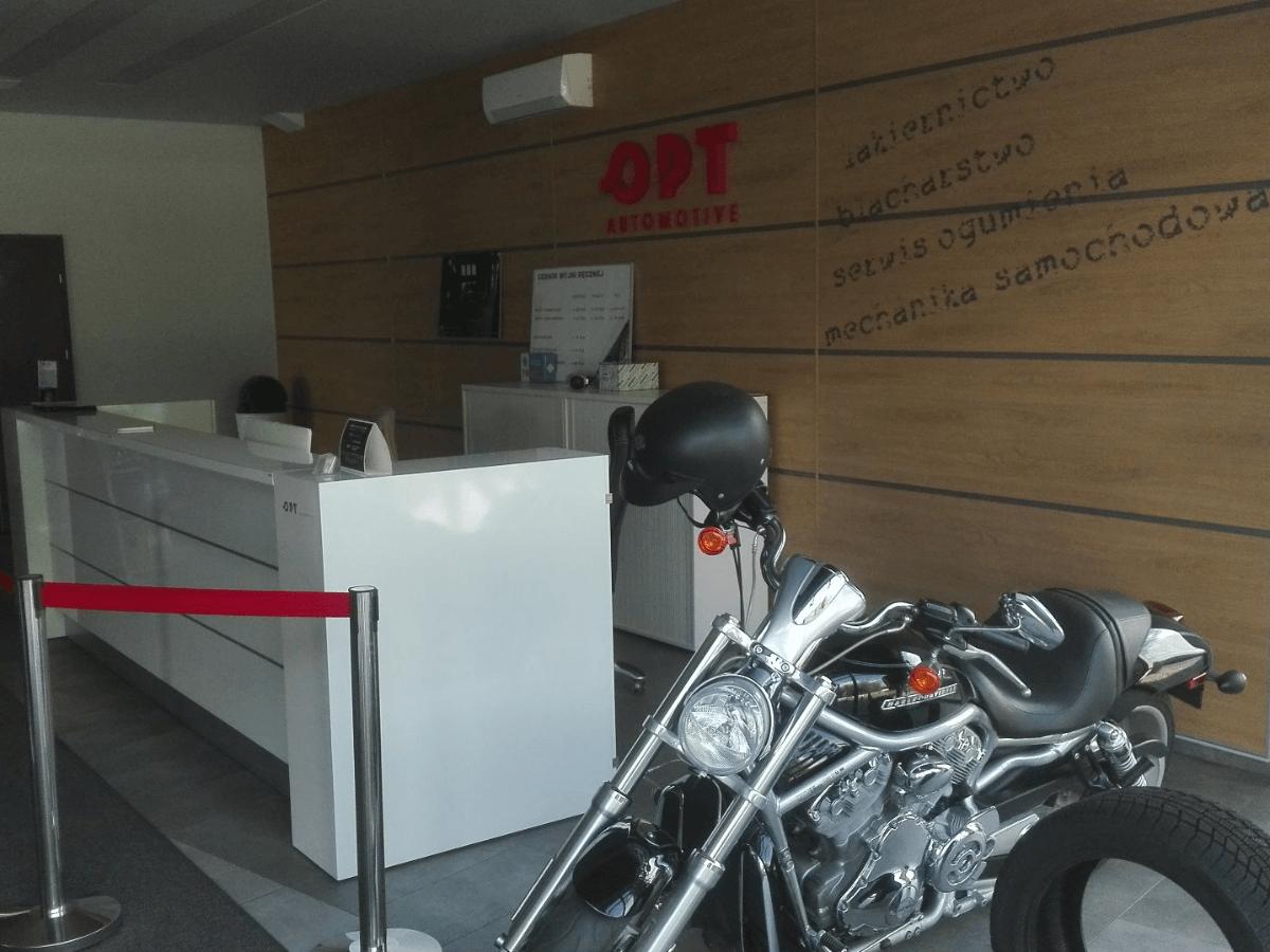 OPT AUTOMOTIVE SP.ZO.O wymiana opon